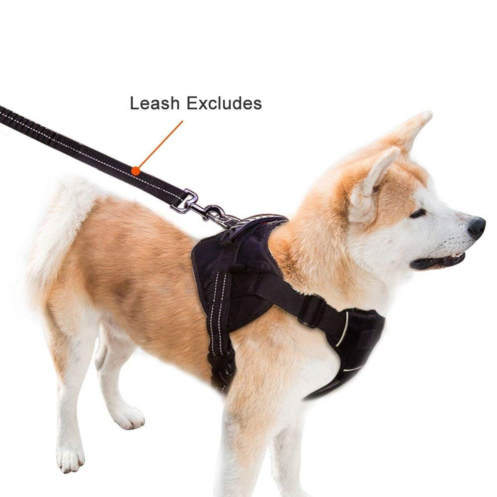 Topcute Durable Dog Leash Harness For Dogs Heavy Duty And