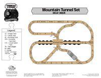 Thomas The Tank Mountain Tunnel Set Tte Layouts Wooden Train