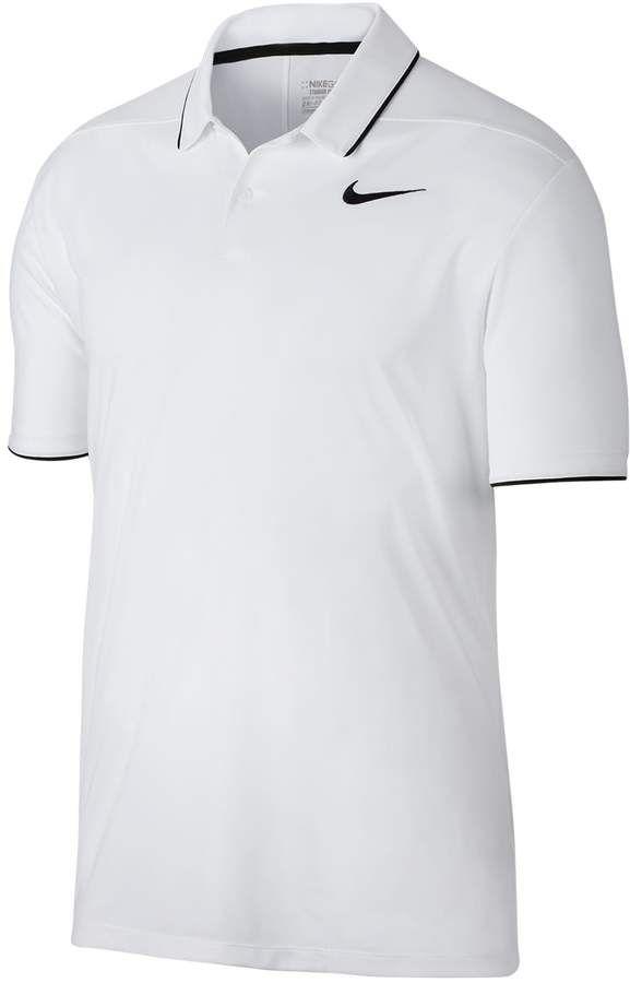 0c8948cbe023 Nike Men s Essential Regular-Fit Dri-FIT Performance Golf Polo ...