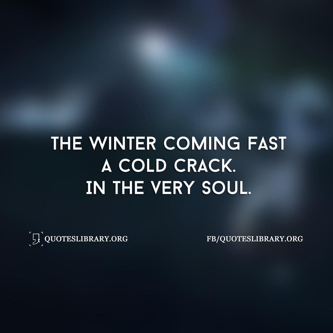 Pin on Winter Quotes