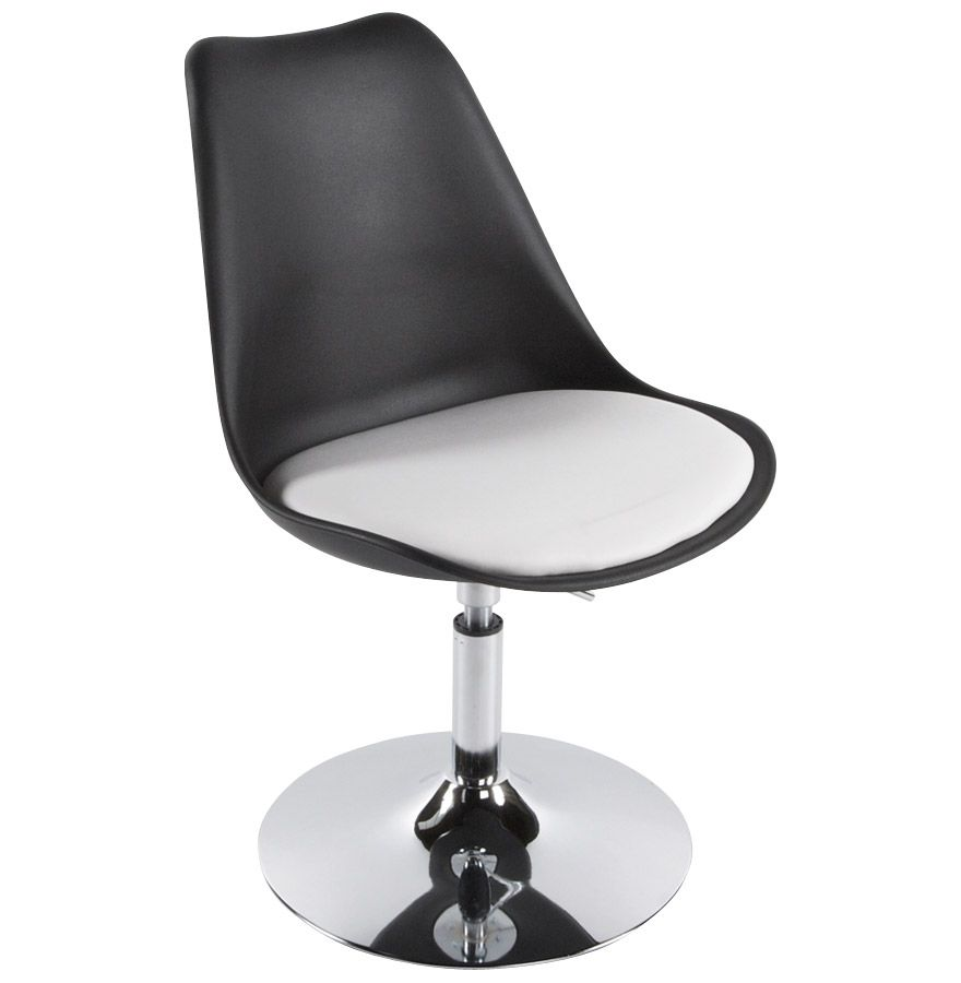 Chaise QUEEN Une chaise pivotante réglable en hauteur