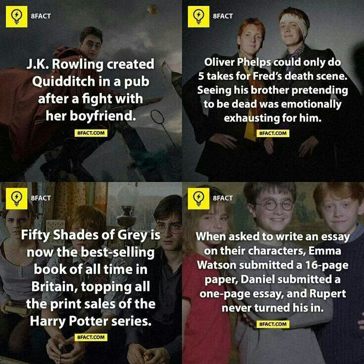 Just Some More Harry Potter Facts Harry Potter Facts Harry Potter Funny Potter Facts