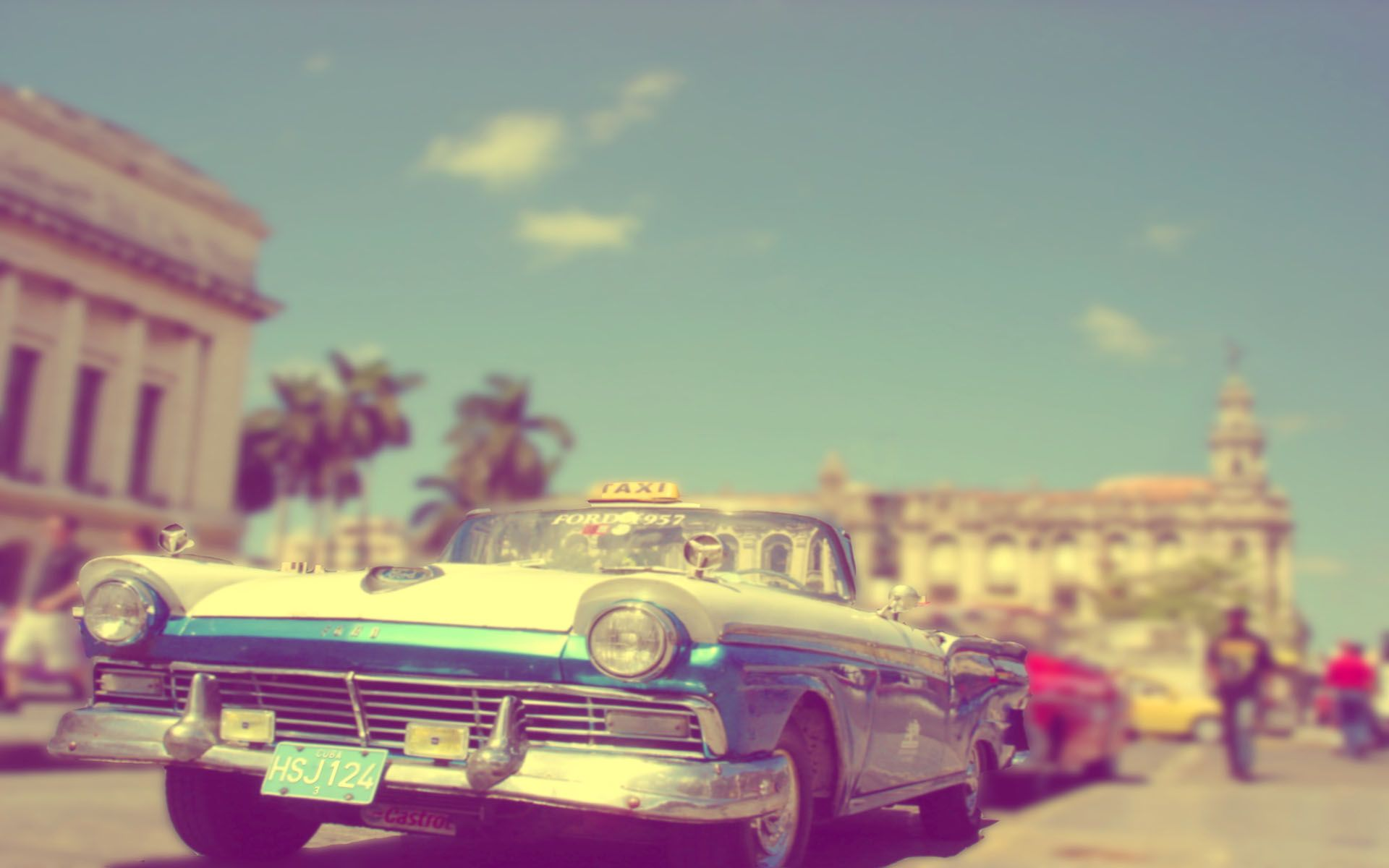 One Day Cuba Vintage Cars Car Ford Vintage Cars Wallpaper