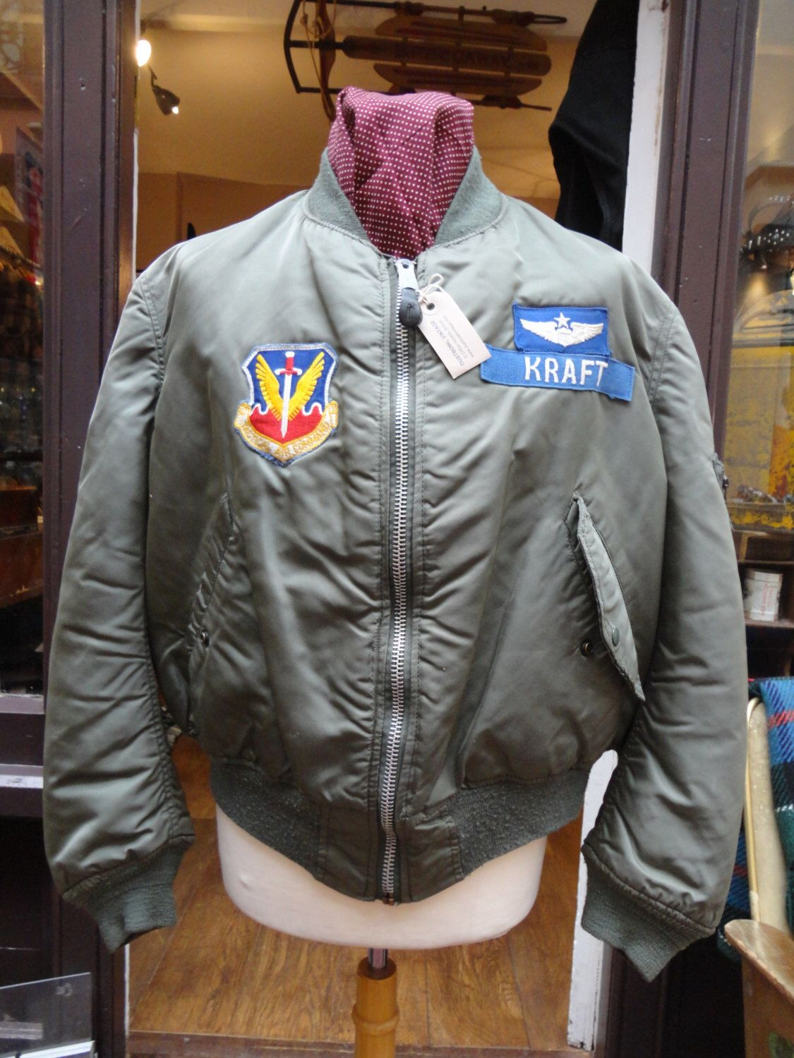 Pin by Brad Beyer on style | Jackets, Vintage, Air force