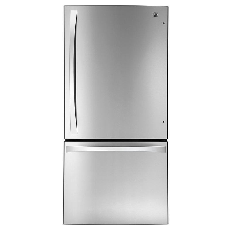 Kenmore Elite 79043 24 1 Cu Ft Bottom Freezer Refrigerator