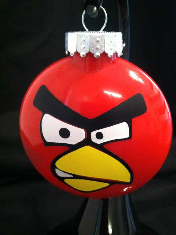 This might end up in someone's stocking... Christmas Frames, Christmas  Balls, - Angry Bird Ornament Holiday Decor Pinterest Ornaments, Bird