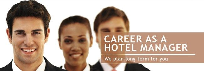 With the admission into the best hotel management institute in India ...