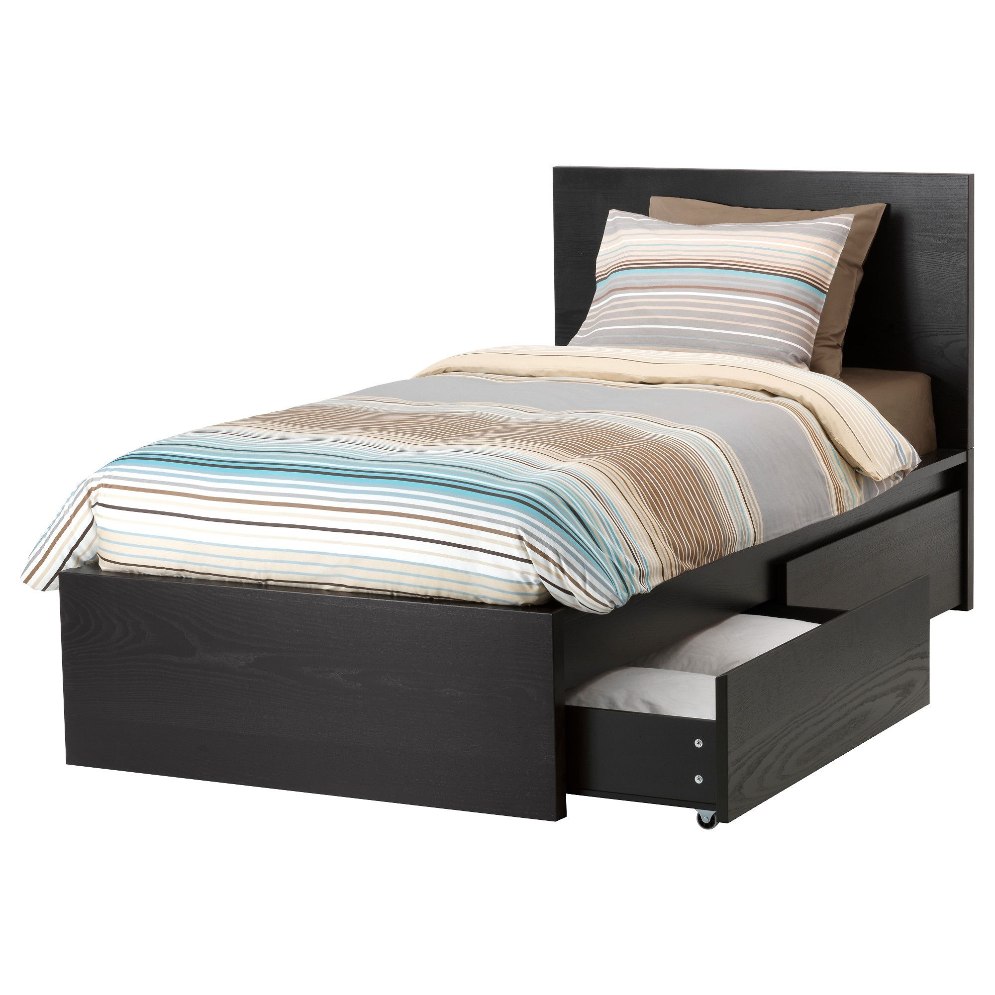 Box Bed Frame With Drawers | http://ezserver.us | Pinterest
