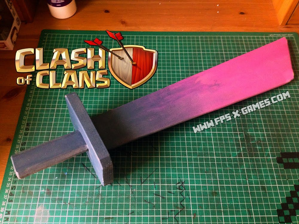 Papercraft Clash Of Clans Troops
