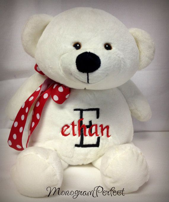 personalized valentine 16 teddy bearmonogramperfect on etsy, Ideas