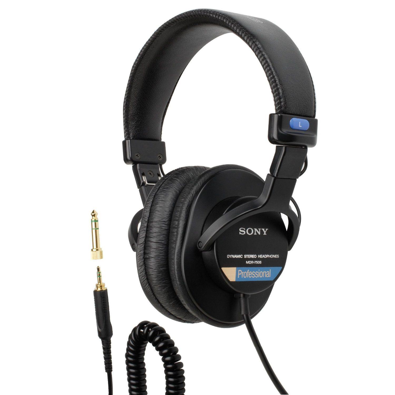 Sony MDR7506 / MDRV6 Professional headphones, In ear