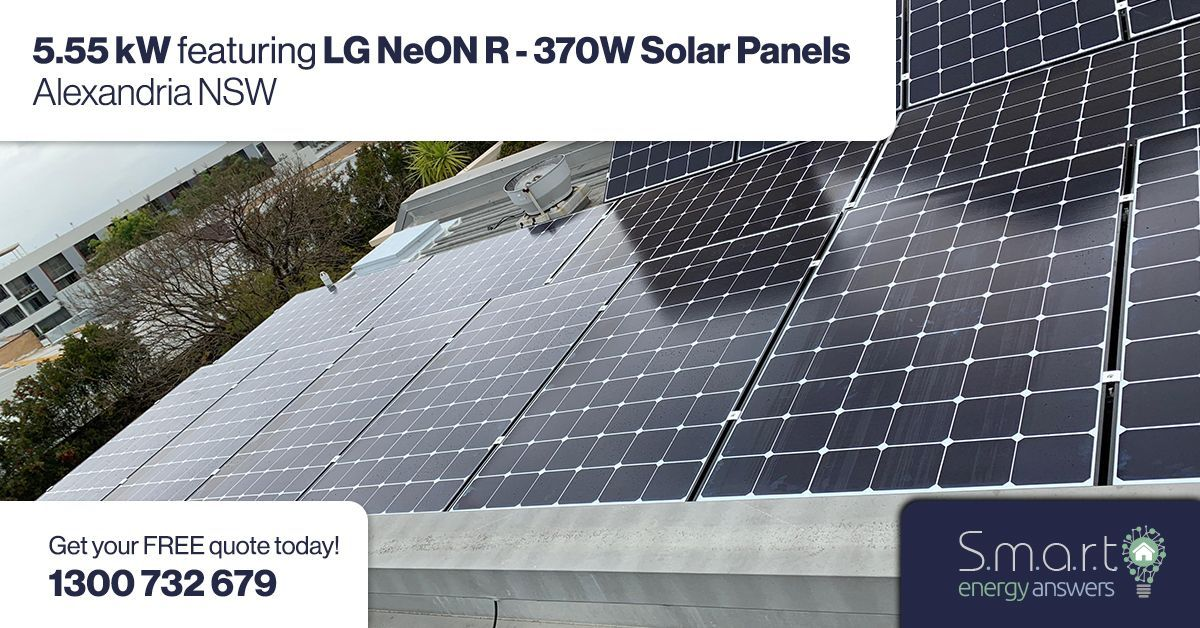 Ready To Make The Switch To Solar Here S Another Great Solarinstall Of The Lg Neon R In Alexandria Nsw Gosolar Lgsolar Sol Solar Roof Solar Panel Energy