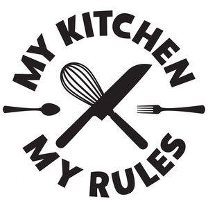 My kitchen my rules   Cricut vinyl, Silhouette design ...