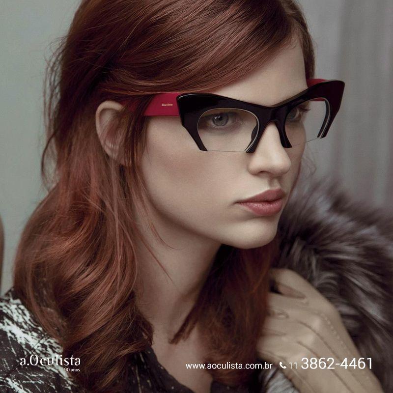 Um Miu Miu para chamar de seu! Acesse https://aoculista.com.br/miu-miu e confira todos os modelos. #aoculista #MiuMiu #glasses #sunglasses #eyeglasses #oculos