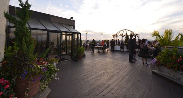 Rooftop at Terrace On The Park   New york wedding venues ...