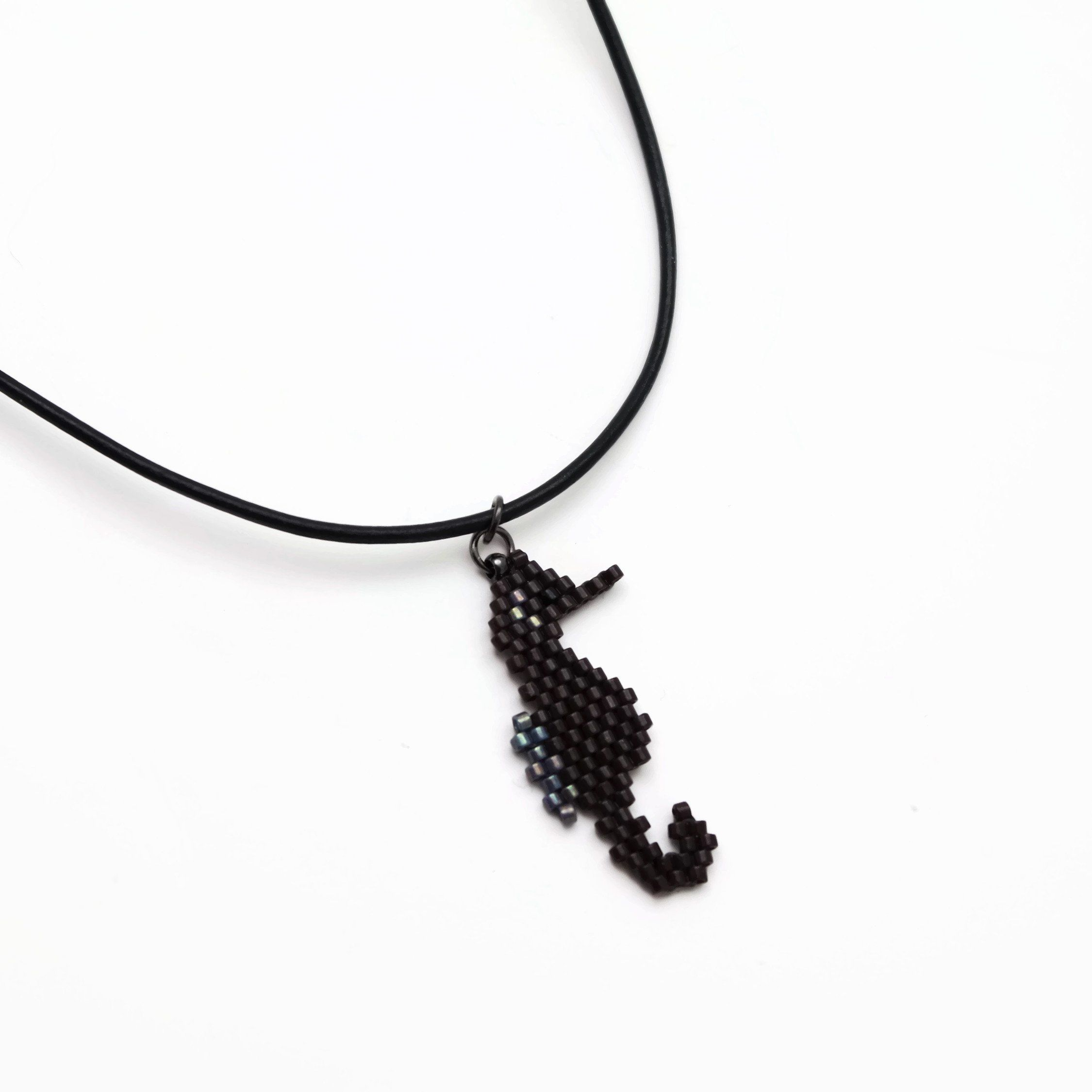 choker necklace tiny product tinyseahorseneck kula seahorse kai jewelry