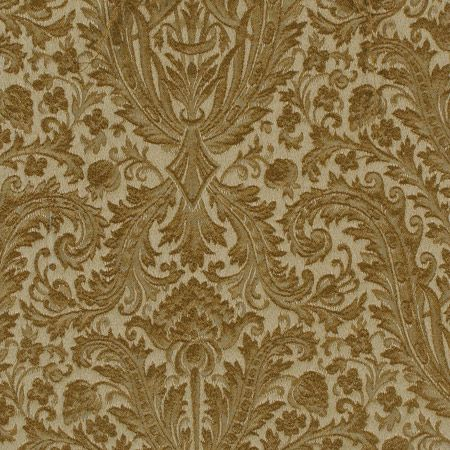 Glorious Swirl damask fabric. celadon and neutral formal French tapestry ideal for bedding, draperies, and chair upholstery. DesignNashville.com shipping world wide.