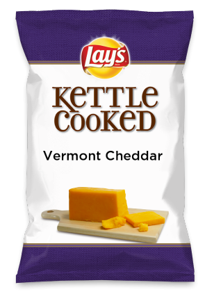 Wouldn't Vermont Cheddar be yummy as a chip? Lay's Do Us A Flavor is back, and the search is on for the yummiest flavor idea. Create a flavor, choose a chip and you could win $1 million! https://www.dousaflavor.com See Rules.