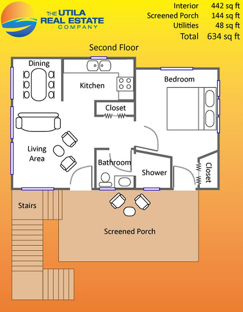 Floor Plan Of Small Beach House In The Caribbean Tiny Beach House Beach House Floor Plans Beach House Flooring