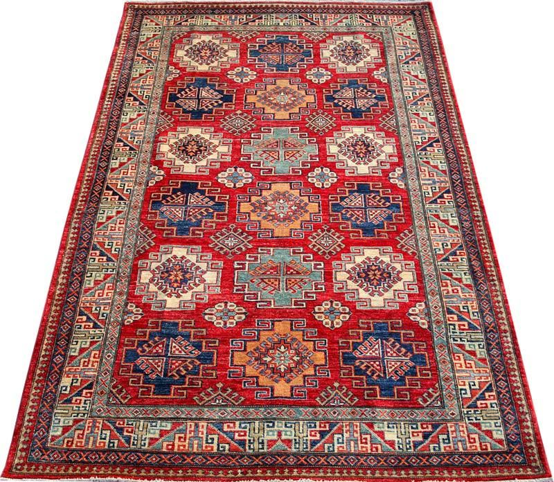 Red Kazak Carpet Rug No 4461 Http Www Alrug Com 4461 Oriental Persian Rugs Rugs Rugs On Carpet