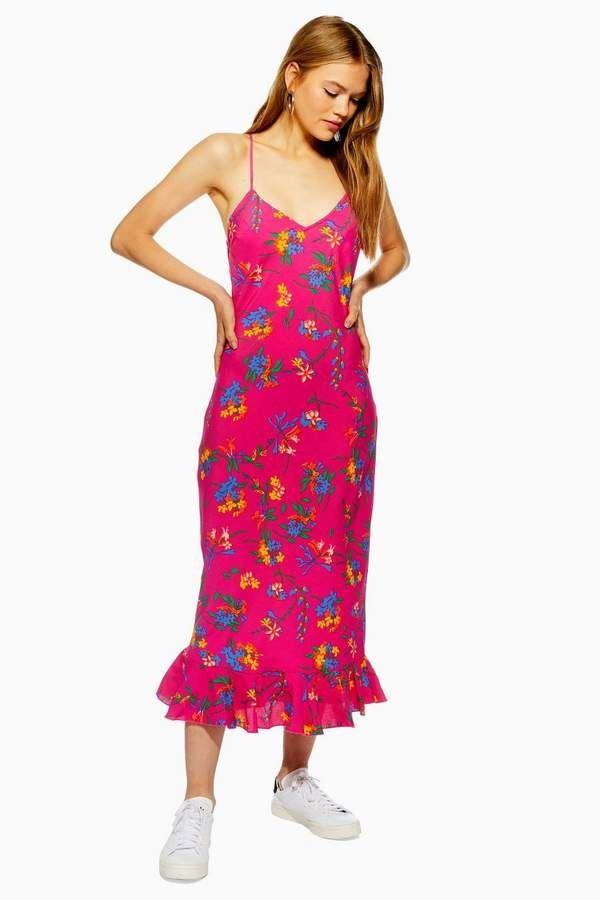 9fc849d794986 PETITE Bright Floral Slip Dress in 2019 | Dresses | Floral prints ...