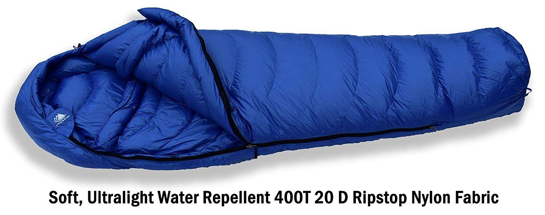 Hyke And Byke Quandary 15 Degree Down Sleeping Bag For Backpacking Ultralight Mummy Down Bag With Down Sleeping Bag Ultralight Sleeping Bag Compression Sacks