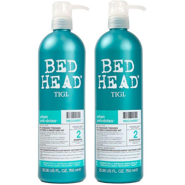 Tigi Tigi Bed Head Recovery Shampoo Conditioner Set 23 Liked On Polyvore Featuring Beauty Products Hai Bed Head Shampoo Shampoo Shampoo And Conditioner