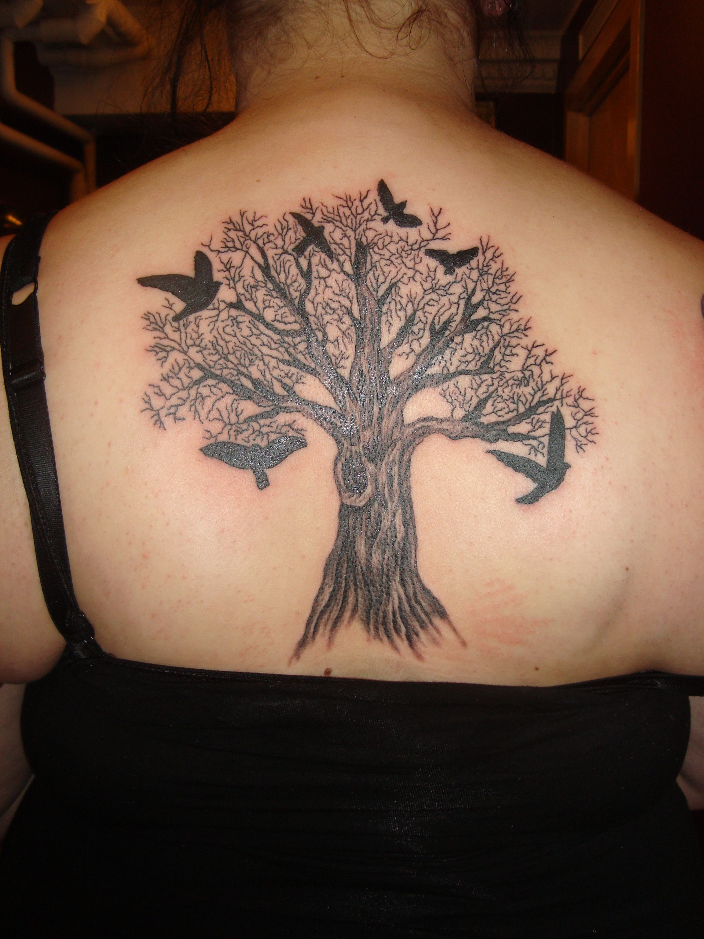 Family Tree Tattoo Designs Tattoos for women, Bird