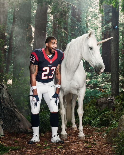 Arian Foster. Love this guy