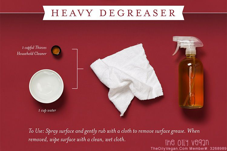 Thieves Heavy Degreaser.