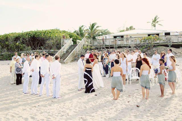 Rustic Jupiter Beach wedding by stayforeverphoto.com