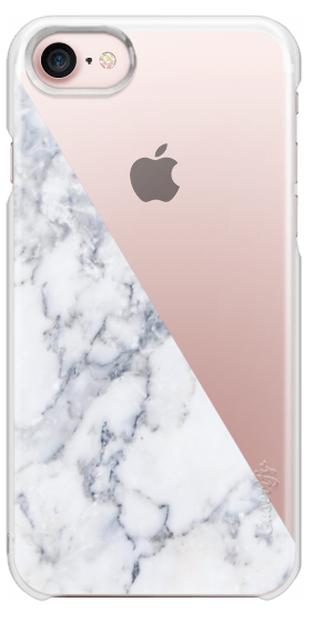 finest selection d4940 a508f Snap iPhone 7 Case - Marble Side | Marble iPhone Cases | Casetify ...