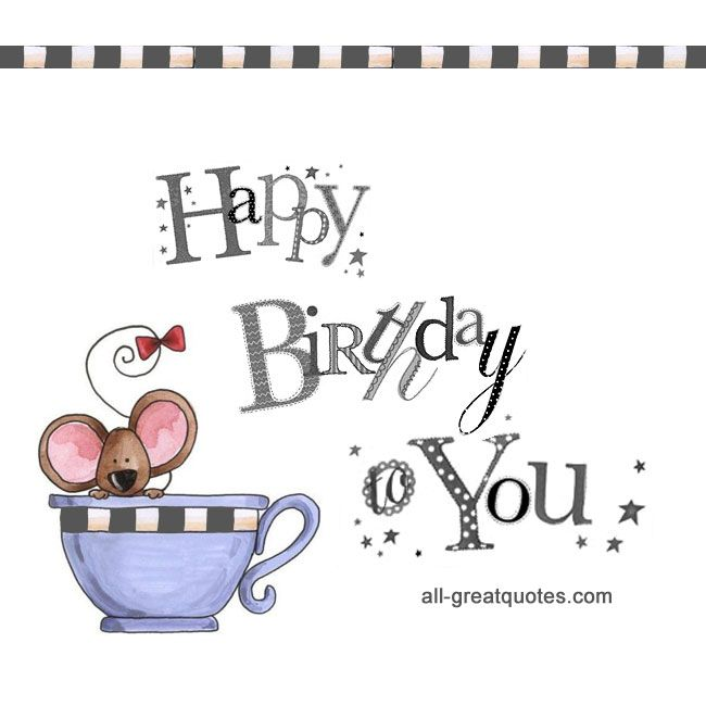 Happy Birthday To You Free Birthday Cards For Facebook Http
