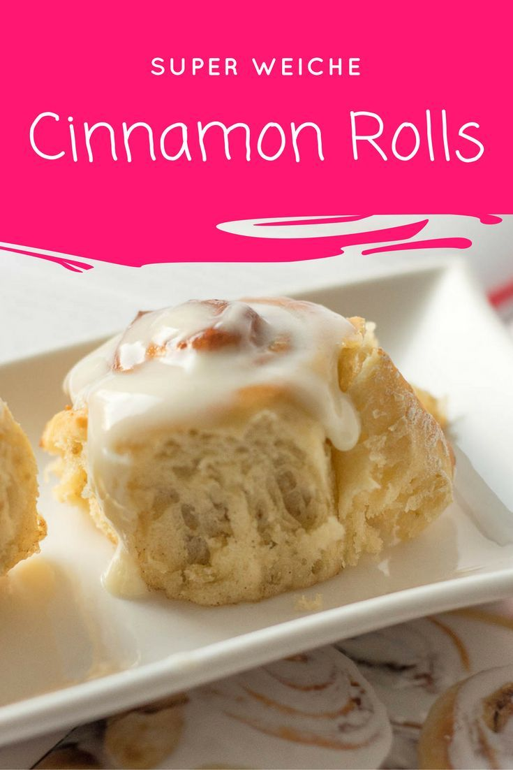Cinnamon Rolls mit Frischkäse Topping #creamcheeserecipes