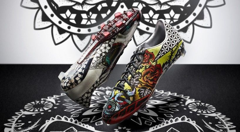 limited edition adidas adizero F50 tattoo pack inked with love & hate