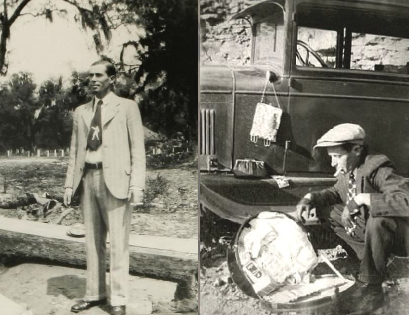 Postcard Bonnie And Clyde Photos Bonnie Parker Bonnie Clyde