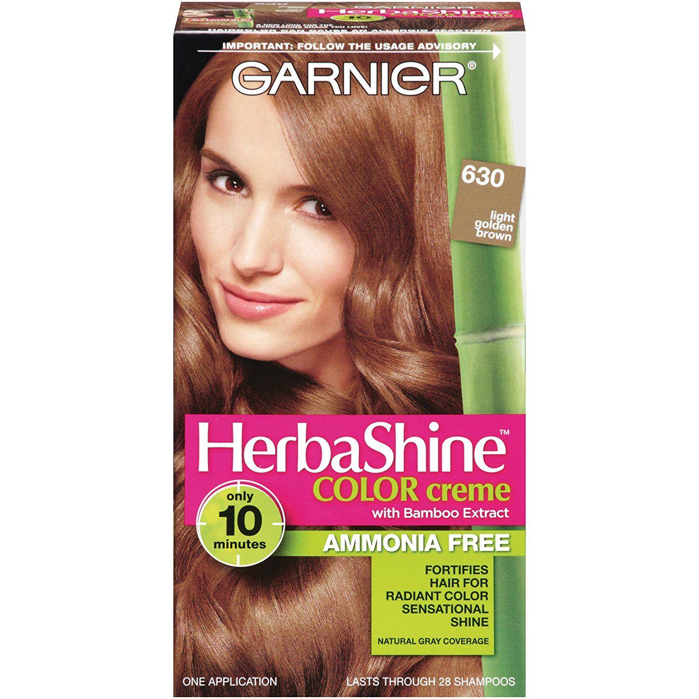 Garnier Herbashine Haircolor 630 Light Golden Brown Click Image