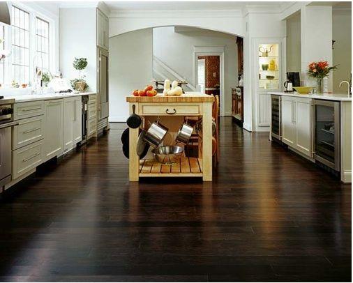 Dark Hardwood Floors Floors Pinterest Bamboo Floor