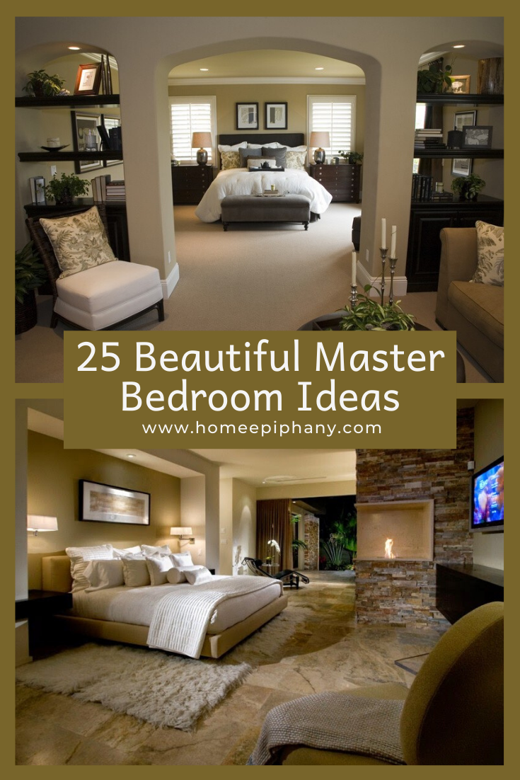 25 Beautiful Master Bedrooms With Images Beautiful Bedrooms Master Rustic Bedroom Design Home Epiphany