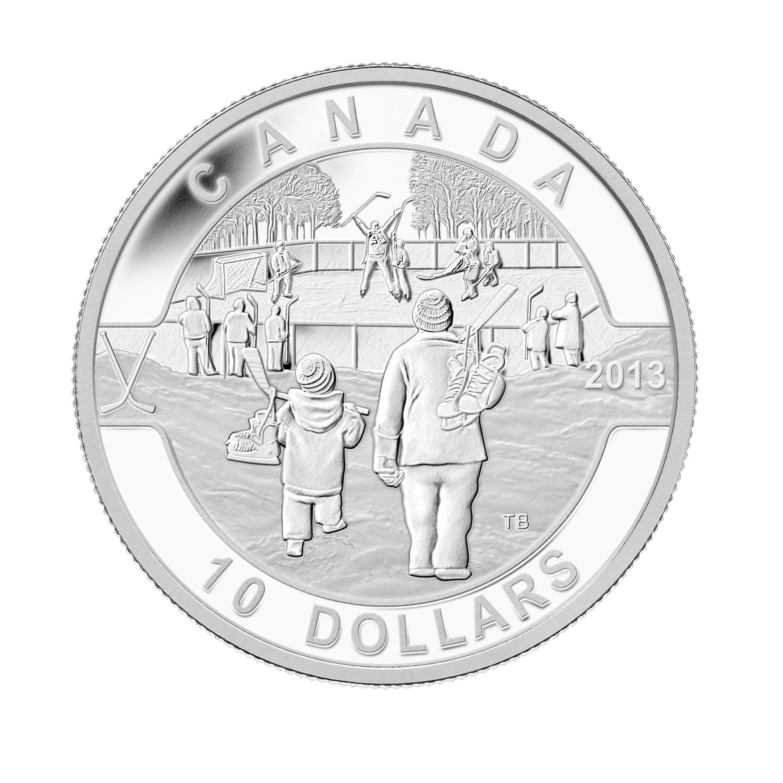 Niagara Falls 2013 $10 1//2 oz Fine Silver Coin Oh Canada Series