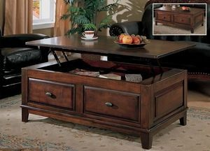 Larchmont Lift Top Table With Storage By Ashley Coffee Table