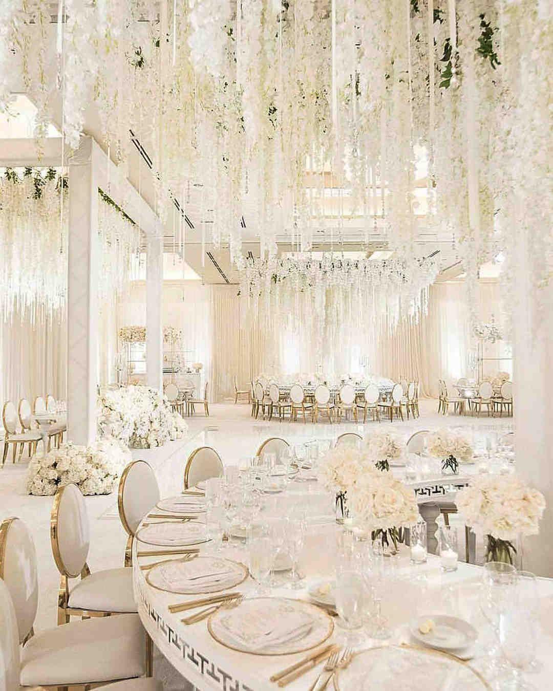 80 Vintage And Elegant Wedding Decoration Ideas In Spring Summer Topbestlife Pa White Wedding Decorations Wedding Decor Elegant Elegant Wedding Reception