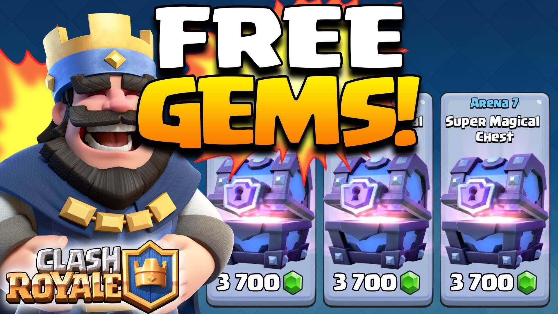 Clash Royale Hack Gems Generator Will Improve Your Account In The