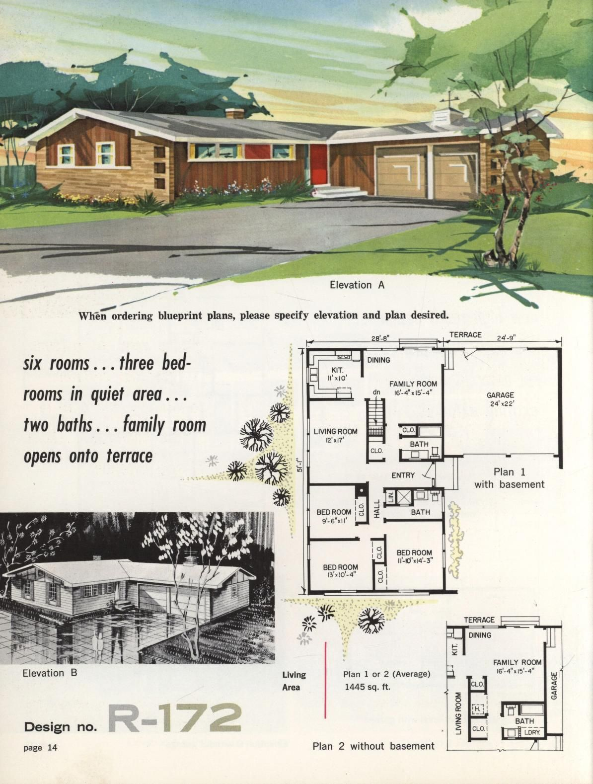 Town Country Ranch Homes Ranch House Remodel Ranch Style Homes Ranch Style House Plans