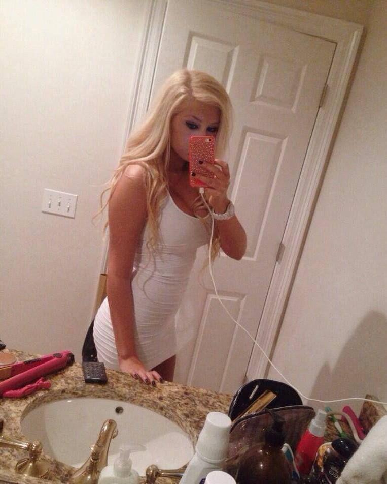 Busty blonde elena