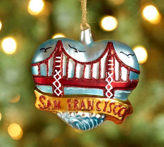 Golden Gate Bridge Ornament, 3.75