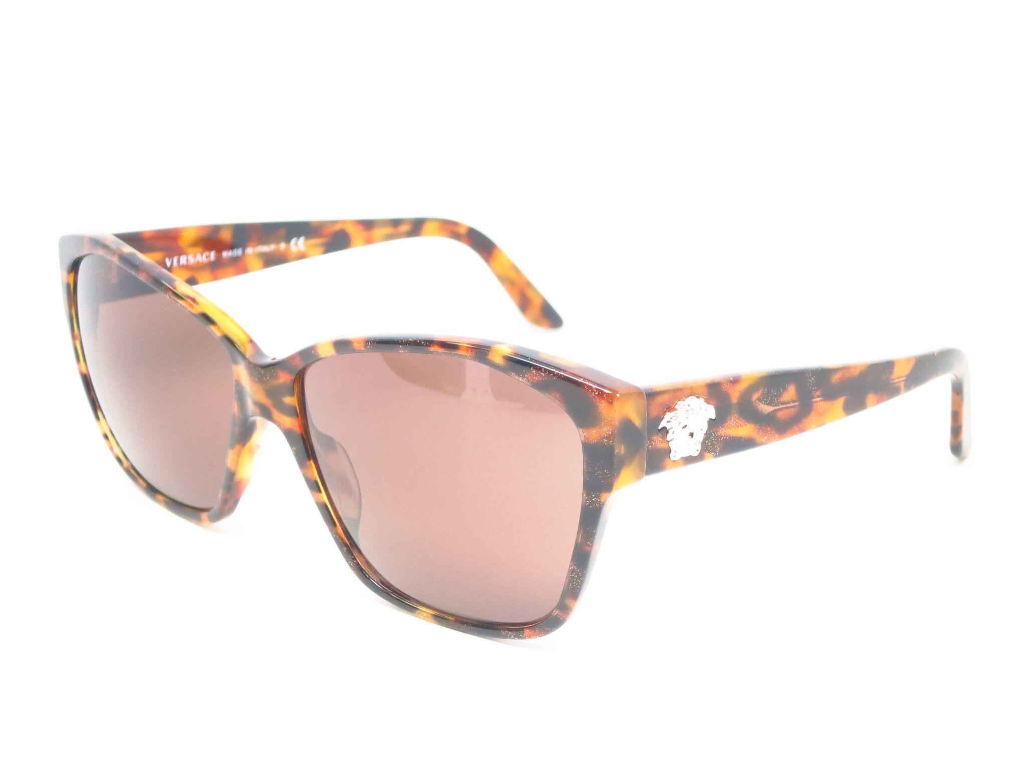 d3450182e7 Versace VE 4277 Animalier Brown Havana 5115 13 Sunglasses