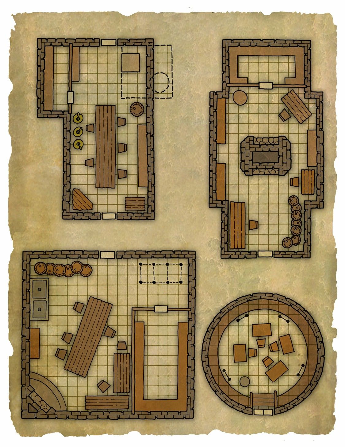 Pin by rasmus hejlesen on battlemaps pinterest rpg and for Floor 2 dungeon map