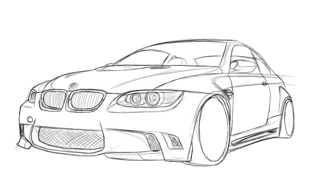 E92 Bmw M3 Coupe Bmw Sketch Bmw Design Bmw Coupe