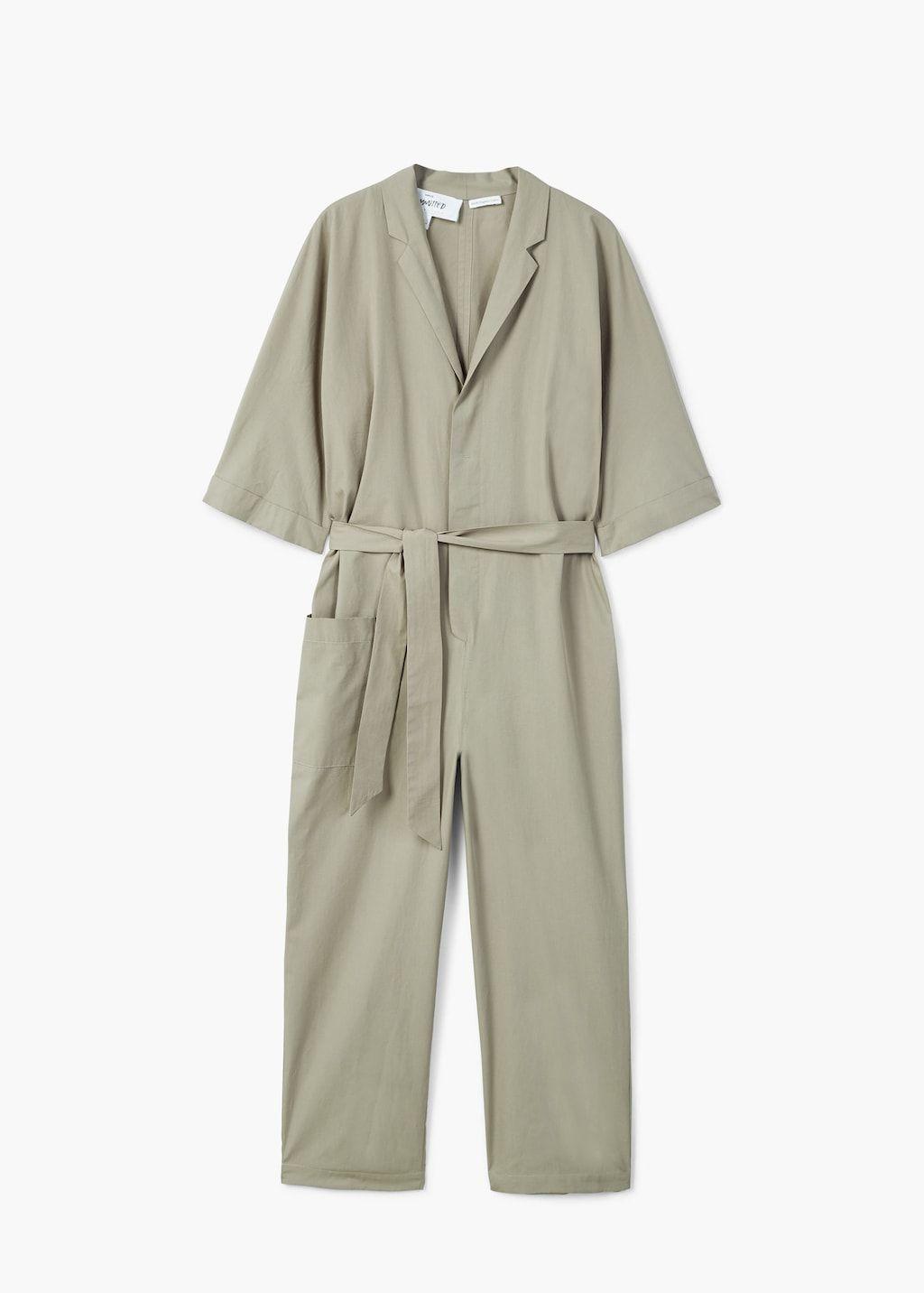 f8be7f0df0a1 Oversize organic cotton jumpsuit